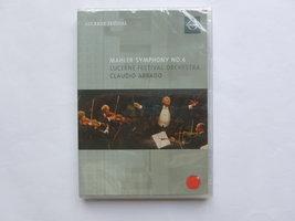 Mahler - Symphony nr. 6 / Claudio Abbado (DVD)nieuw