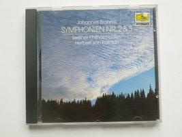 Brahms - Symphonie 2 & 3 / Herbert von Karajan