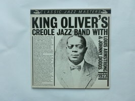 King Oliver's Creole Jazz Band with Louis Armstrong & Johnny Dodds - Classic Jazz Masters (LP)