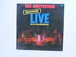 Drukwerk - Hee Amsterdam / Live in het Concertgebouw (LP)