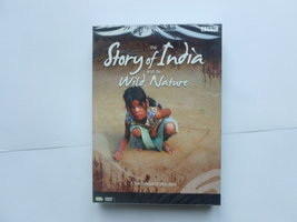 The Story of India and its Wild Nature (5 DVD) Nieuw