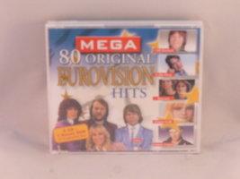 80 Original Mega Eurovision Hits (4 CD + DVD) Nieuw
