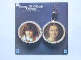 Donny & Marie Osmond - I'm leaving it all up to you (LP)