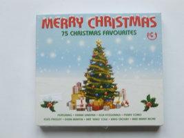 Merry Christmas  - 75 Christmas Favourites (3 CD) Nieuw