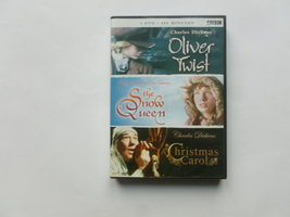 Oliver Twist/The Snow Queen/A Christmas Carol (4 DVD)