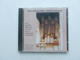 Jan Jongepier improviseert op het Christian Müller orgel