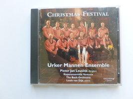 Urker Mannen Ensemble - Christmas Festival (met Louis van Dijk)