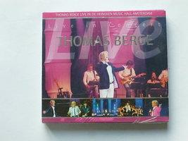Thomas Berge - Live in de Heineken Music Hall Concert (2 CD) Nieuw