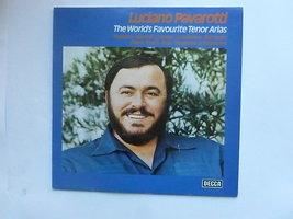 Luciano Pavarotti - The world's favourite tenor arias (LP)
