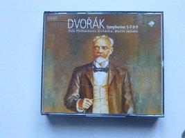Dvorak - Symphonies 5,7,8,9 / Mariss Jansons (3 CD)