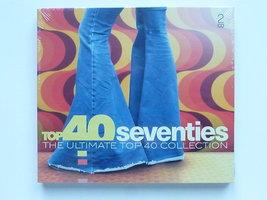 Top 40 Seventies - The Ultimate Top 40 Collection (2 CD) Nieuw