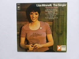 Liza Minnelli - The singer / You're so vain (lp)