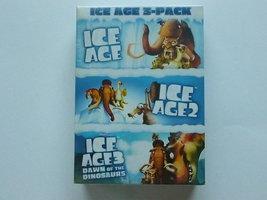 Ice Age 1,2 en 3  (3 DVD) nieuw