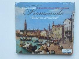 Bellotti - Promenade / The eastman italian baroque organ (nieuw)