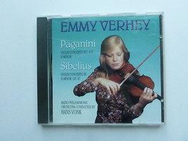 Emmy Verhey - Paganini, Sibelius / Hans Vonk