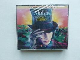 Sjakie en de Chocolade Fabriek (3 CD luisterboek) nieuw