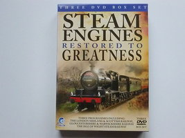 Steam Engines restored to Greatness (3 DVD)
