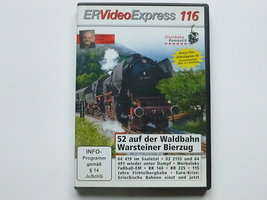 ER Video Express 116 /52 auf der Waldbahn Warsteiner Bierzug (DVD)