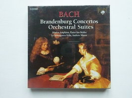 Bach - Brandenburg Concertos / Pieter jan Belder (4 CD) nieuw