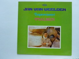 Jan van Weelden - improviseert Psalmen  (LP)