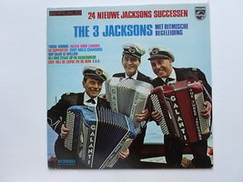 The 3 Jacksons - 24 nieuwe jacksons successen (LP)