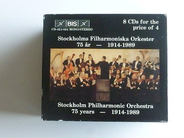 Stockholm Philharmonic Orchestra 75 Years (8 CD)