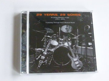 A Journey through Saz's musical world - 29 Years, 29 Songs (2 CD)
