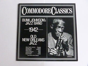 Bunk Johnson's Jazz Band - Old new orleans jazz 1942 (LP)