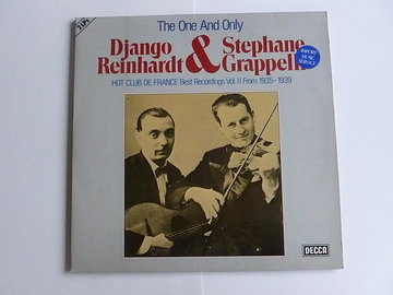 Django Reinhardt & Stephane Grappelli - The One and Only (2 LP)