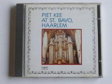 Piet Kee at St. Bavo Haarlem