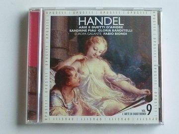 Handel - Arie e duetti dámore / Europa Galante Fabio biondi