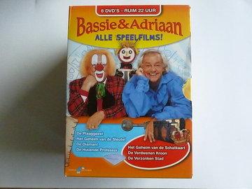Bassie & Adriaan - Alle Speelfims! (8 DVD)