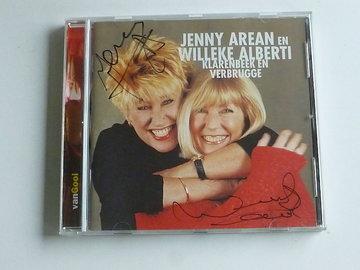Jenny Arean en Willeke Alberti - Klarenbeek en Verbrugge (gesigneerd)
