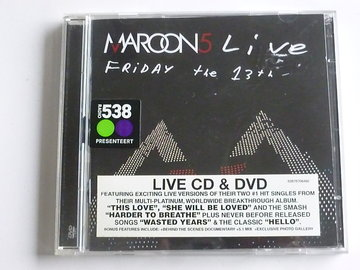 Maroon 5 - Live / Friday the 13th (CD + DVD)