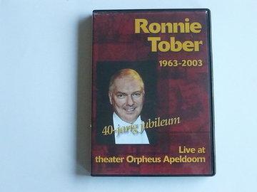 Ronnie Tober Live Jubileumconcert 1963/2003 (DVD)