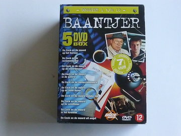 Baantjer - Dossier 1 t/m 10 (5 DVD)