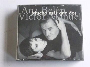 Ana Belen Victor Manuel - Mucho mas que dos (2 CD)