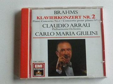 Brahms - Klavierkonzert nr. 2 / Claudio Arrau , Guilini