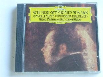 Schubert - Symphonie 3, 8 / Carlos Kleiber