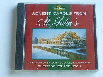 Advent Carols from St. John's - The Choir of St. John's College / Christopher Robinson