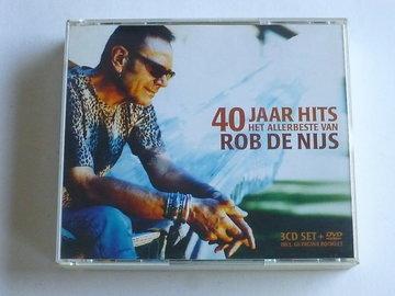 Rob de Nijs - 40 Jaar Hits / Het Allerbeste van (3 CD + DVD)