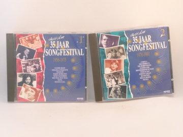 Meer dan 35 jaar Songfestival 1 + 2 (2 CD)