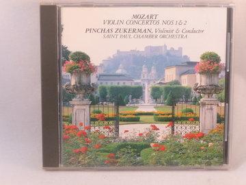 Mozart - Violin Concertos / Pinchas Zukerman (made in Japan)