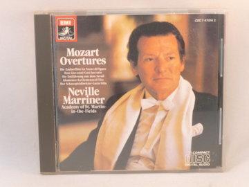 Mozart - Overtures / Neville Marriner