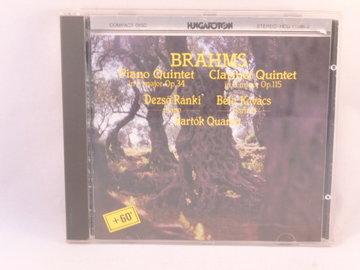 Brahms - Piano Quintet / Ranki, Bartok Quartet