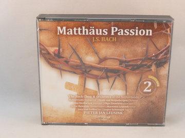 Bach - Matthäus Passion / Pieter Jan Leusink (2CD + DVD)