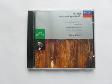 Bach - Favourite Organ Works / Carlo Curley