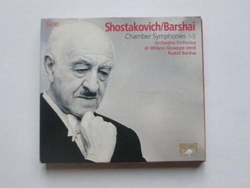 Shostakovich / Barshai - Chamber Symphonies 1-5 (2 CD)