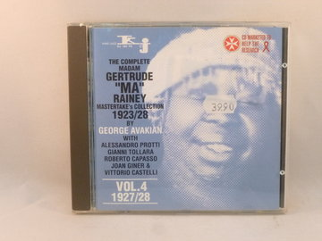 The Complete Madam Gertrude Ma Rainey mastertakes collection 1923-1928
