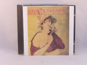 George Shearing With Don Thompson – Live At The Cafe Carlyle